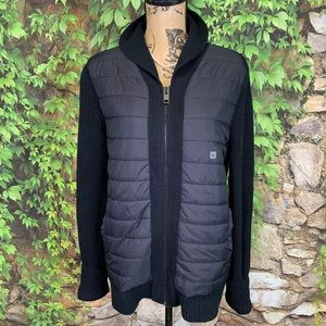NWT EXPRESS Quilted Sweater Jacket, M